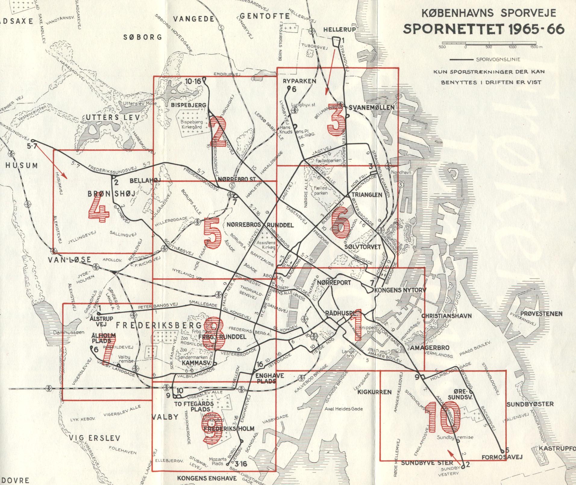 Track Maps Sporvogne Sporveje